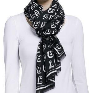 Marc Jacob Dynamite logo scarf